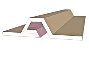 פרופילי גבס מעוצב מדגם SD-7
